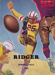 1949 Football Program